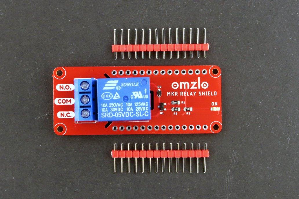 Arduino-MKR Relay Shield 1