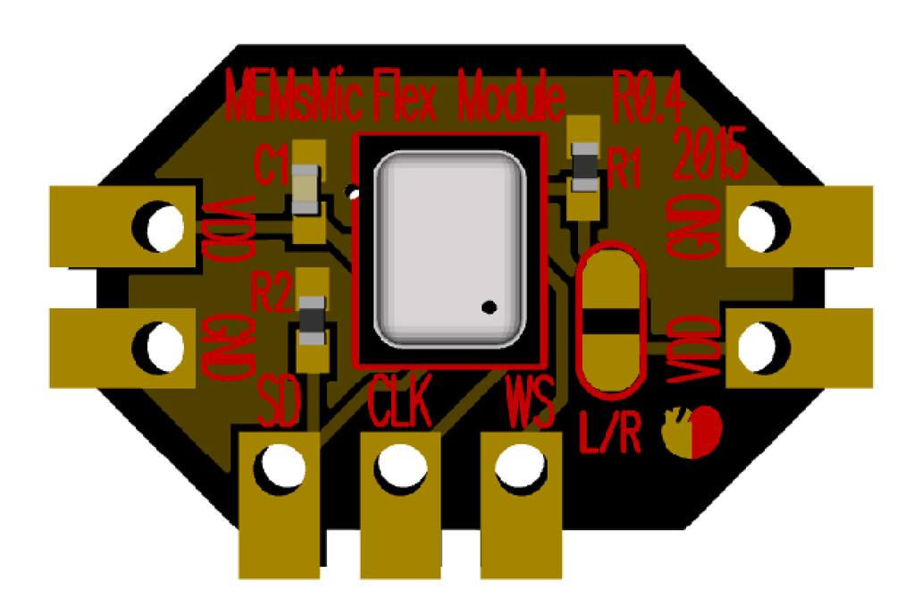 MEMS Microphone Flex Module 5