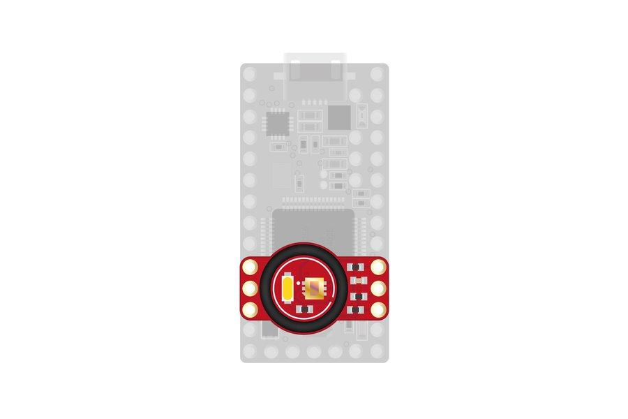 Teensy TCS34725 RGB sensor addon