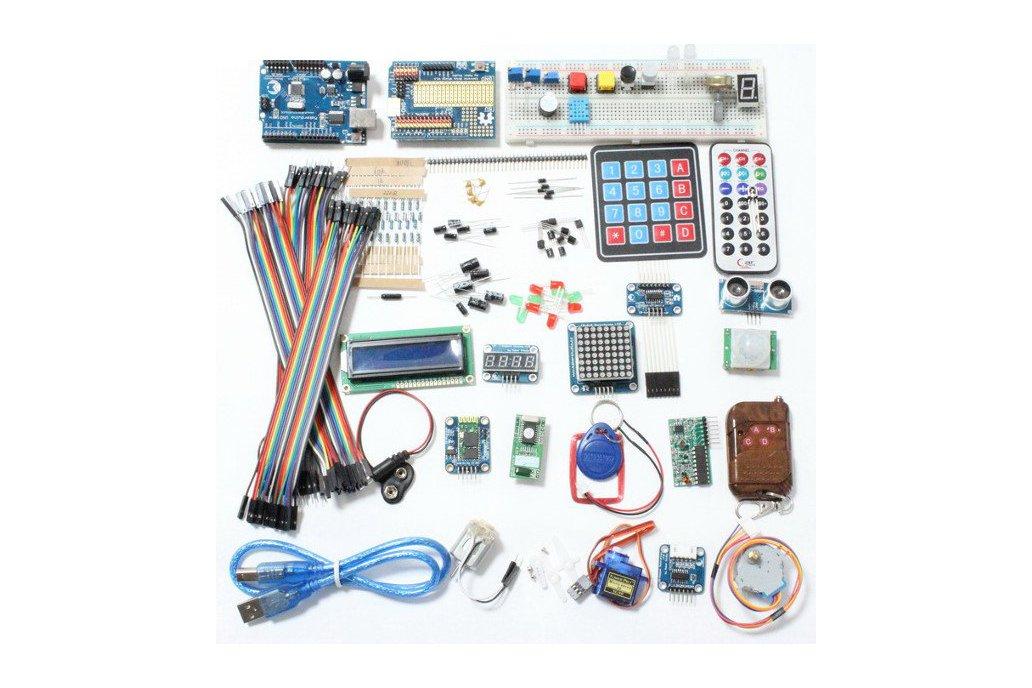 Deluxe Uno R3 Basic Kit Starter Learning Kit 1