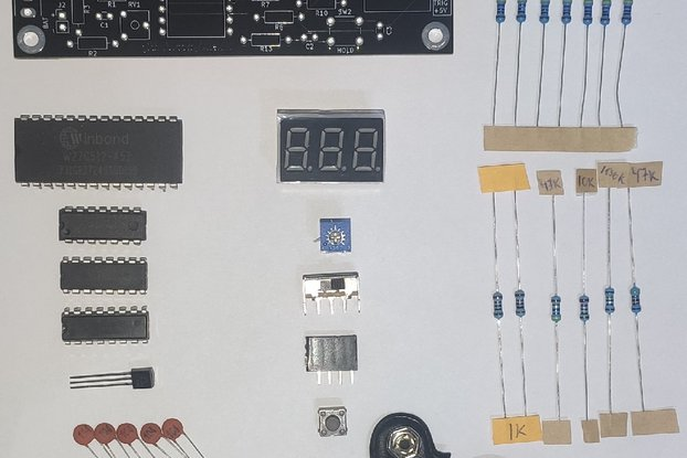No-MCU Distance Meter kit