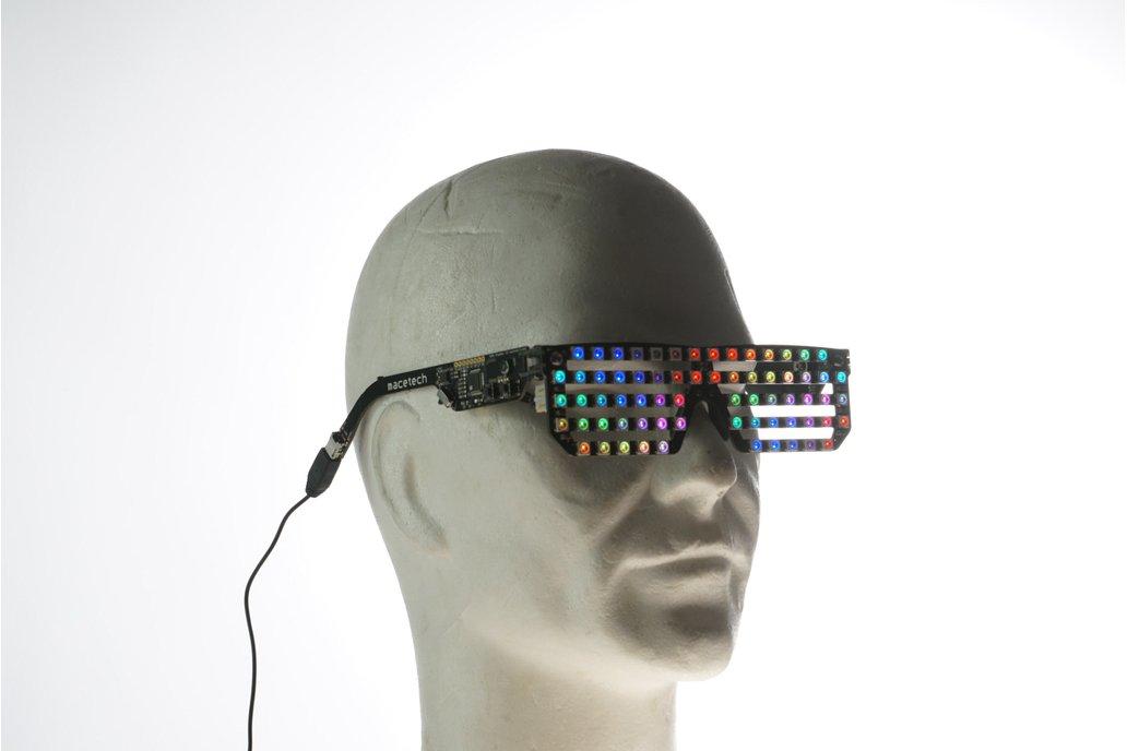 Full Color RGB Led glasses 1