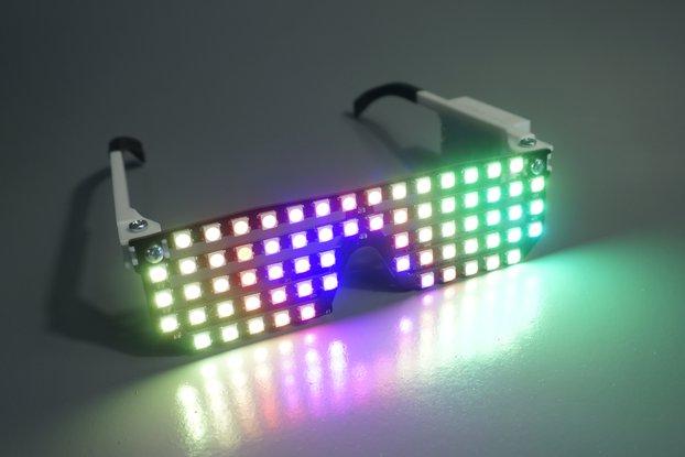Pixxel LED Glasses - 68 RGB LEDs