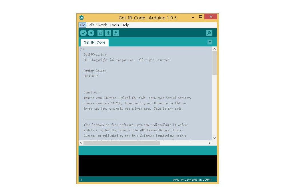 IRduino: Arduino-compatible USB IR Receiver
