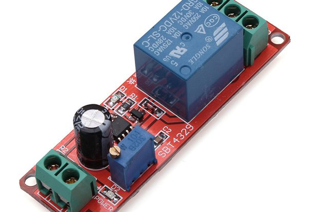 Delay Timer Switch Adjustable