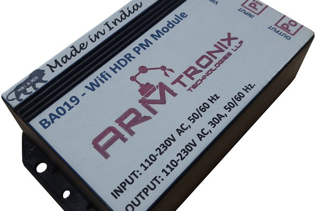 BA019: Wifi 30A Relay with Power Monitoring Board