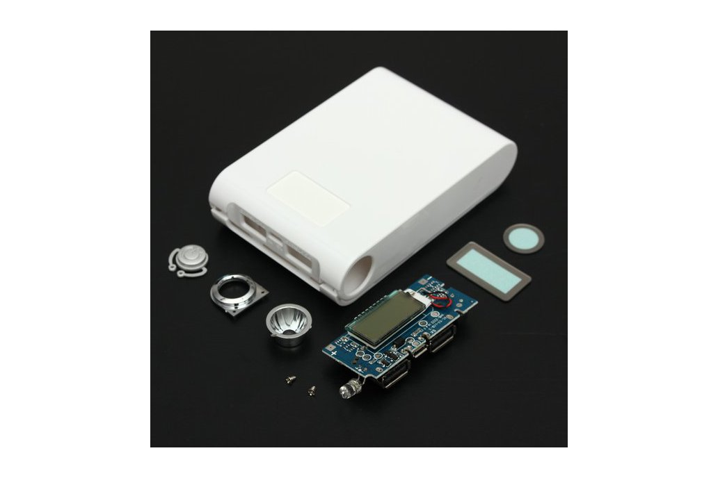 DIY Kit Dual USB Power Bank Battery Charger Box 5