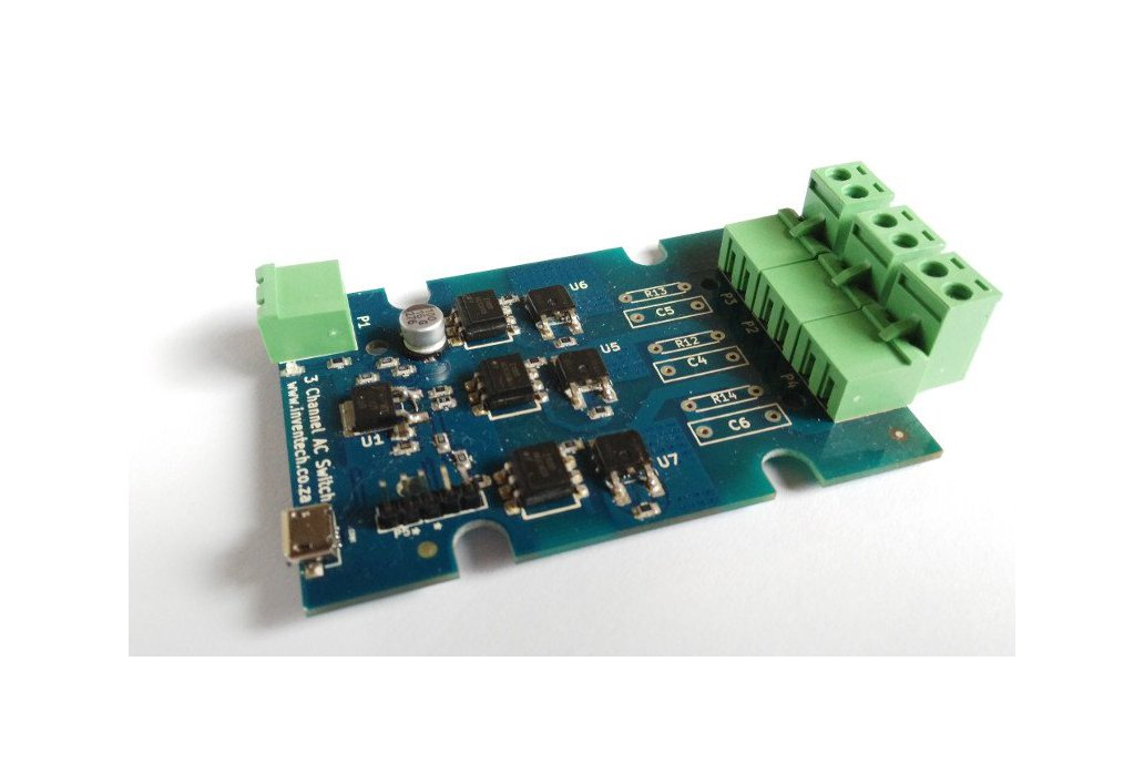 ESP8266 3 Channel Solid State Wifi Switch 1