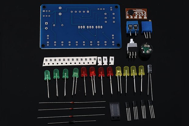 DIY Kit Music Circuit LED Flashing Module (13613)