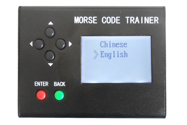 Morse Code Trainer LCD Telegraph Short Wave Radio
