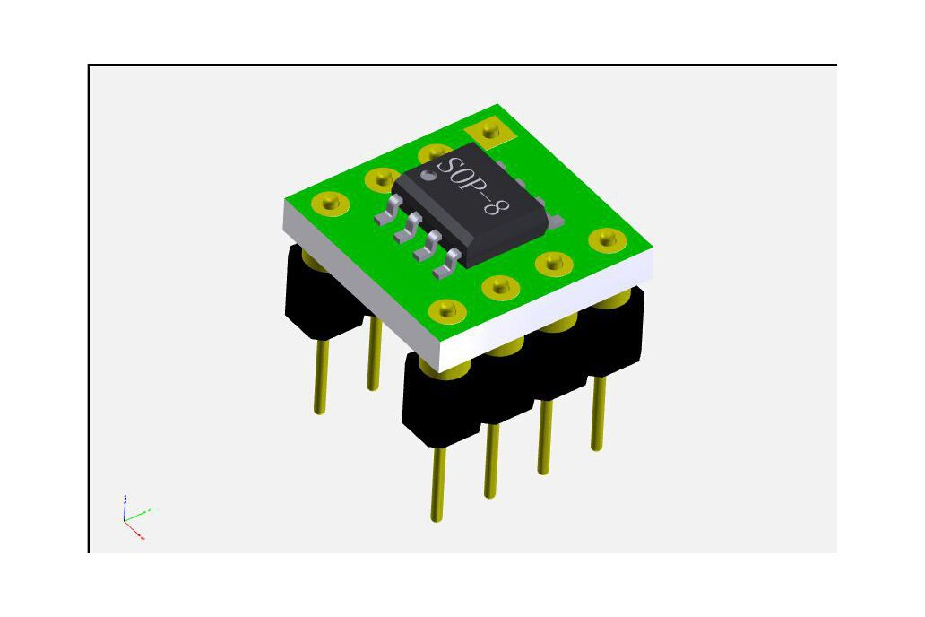 Logarithmic RF power meter 0-500MHz DIP AD8307