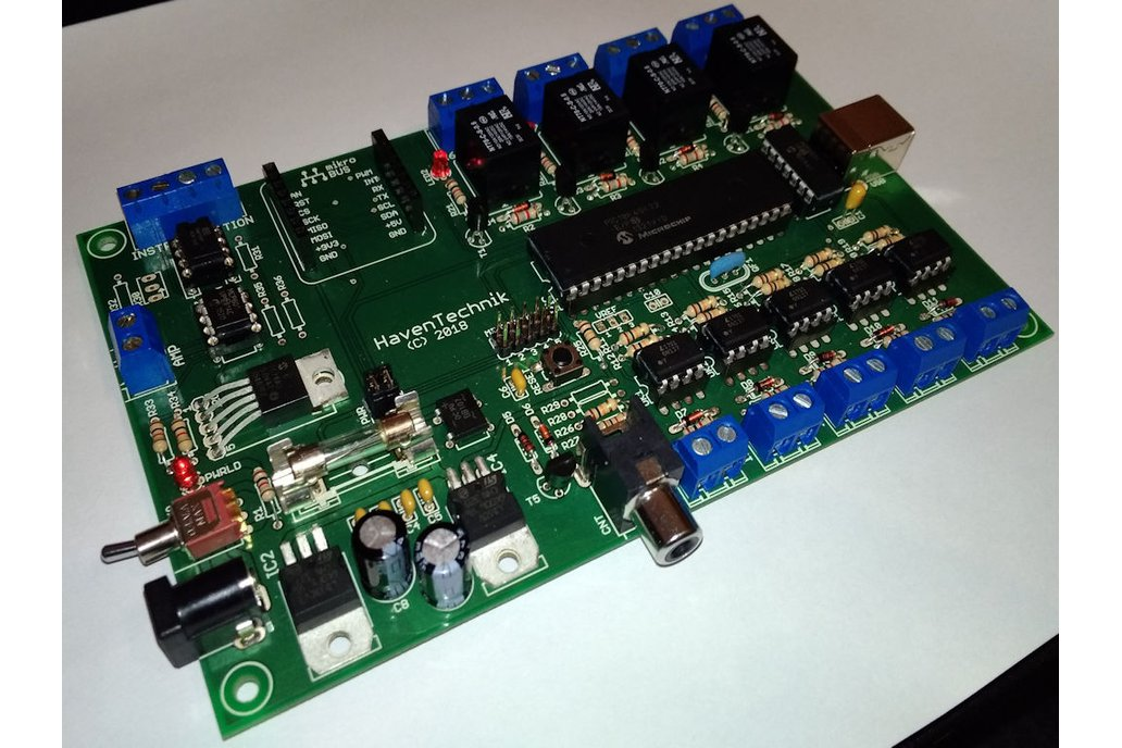 FACTOR - Instrumentation I/O PCB 1