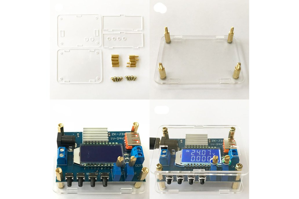 3A High Precision DC Adjustable Step-down Module 1