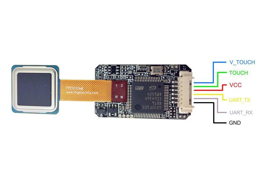FPC1020 Fingerprint Touch Sensor Kit