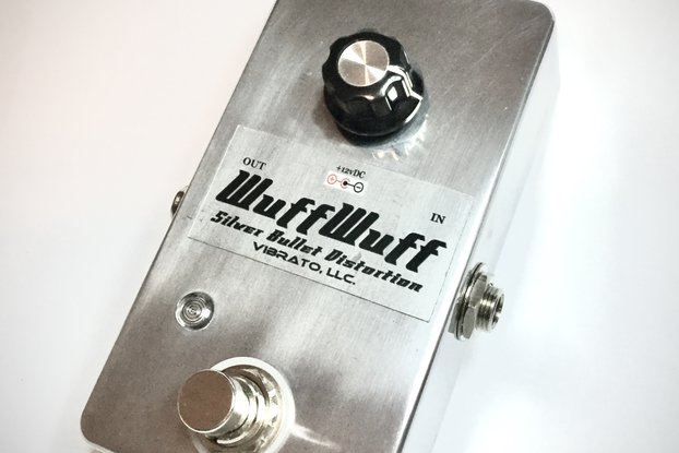 WuffWuff SilverBullet Distortion Footpedal