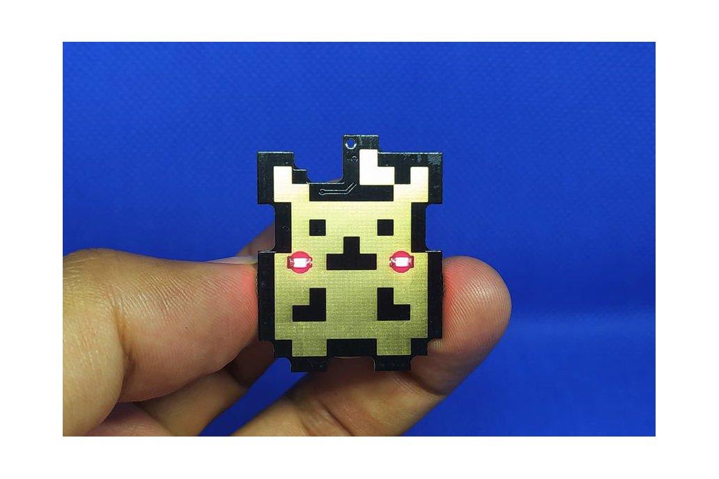 Pika pin badge SE 1