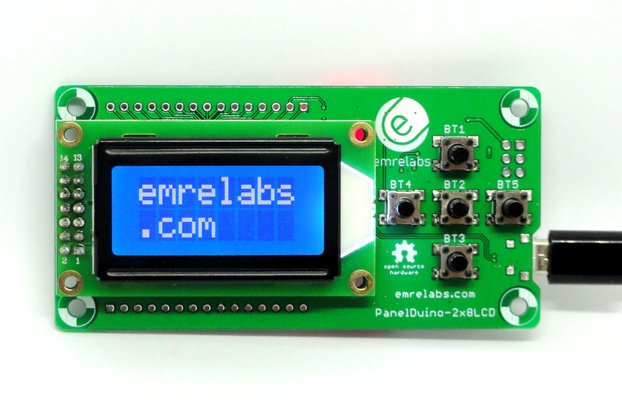 PanelDuino 2x8 Smart Display