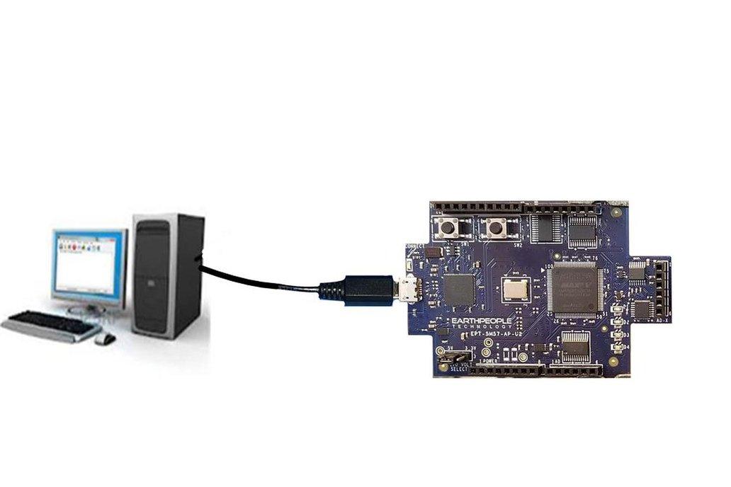 Intel/Altera 5M570 CPLD Development Kit - UnoMax 7