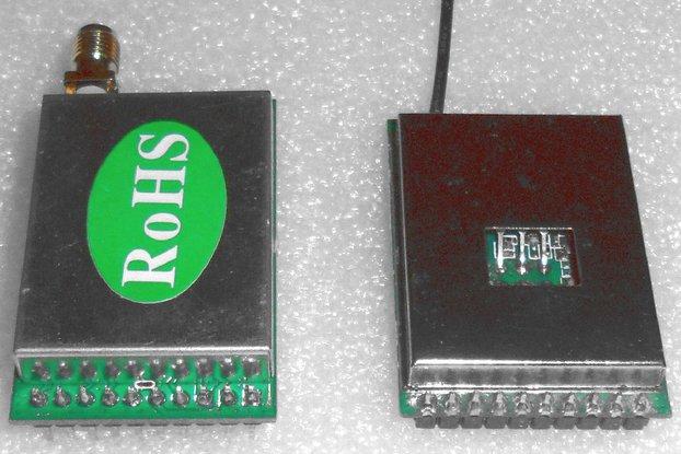 1W wireless audio/video monitoring kit
