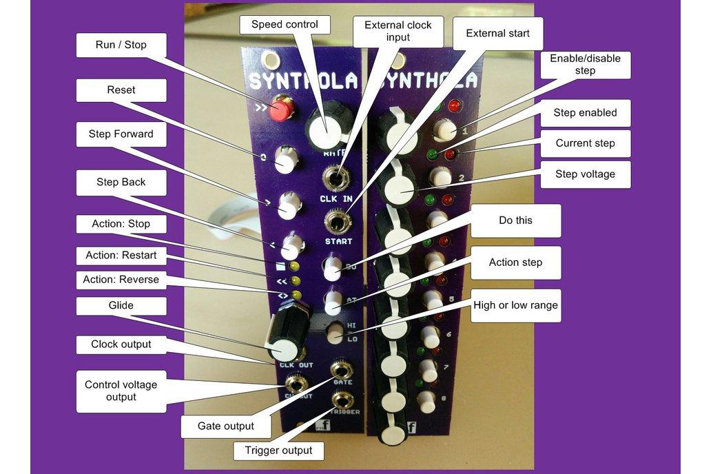 Synthola Sequencer (Eurorack PCB Set) 5