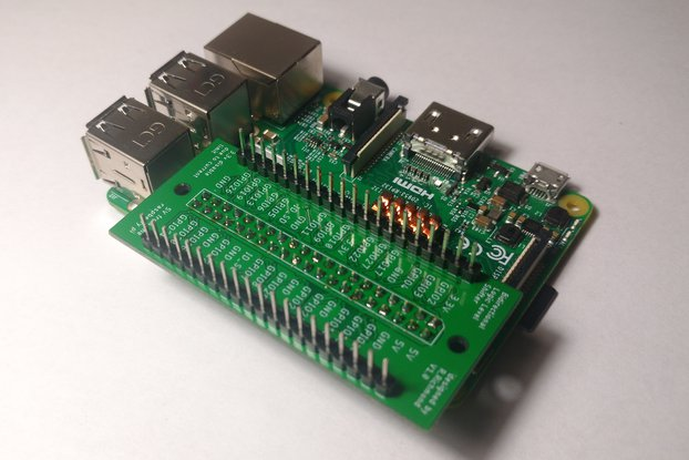 Logic level shifter for raspberry pi