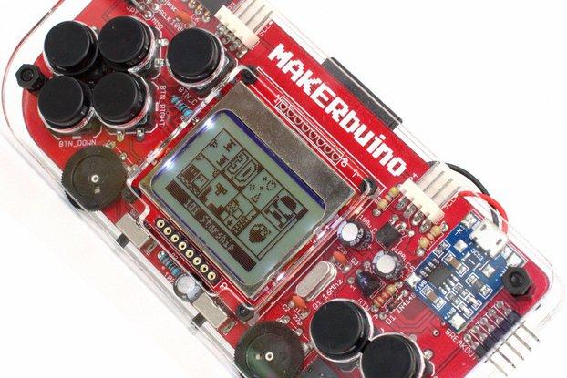 MAKERbuino - a DIY game console