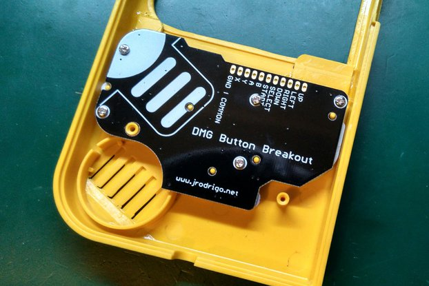 DMG Button Breakout PCB for Game Boy Mods Zero