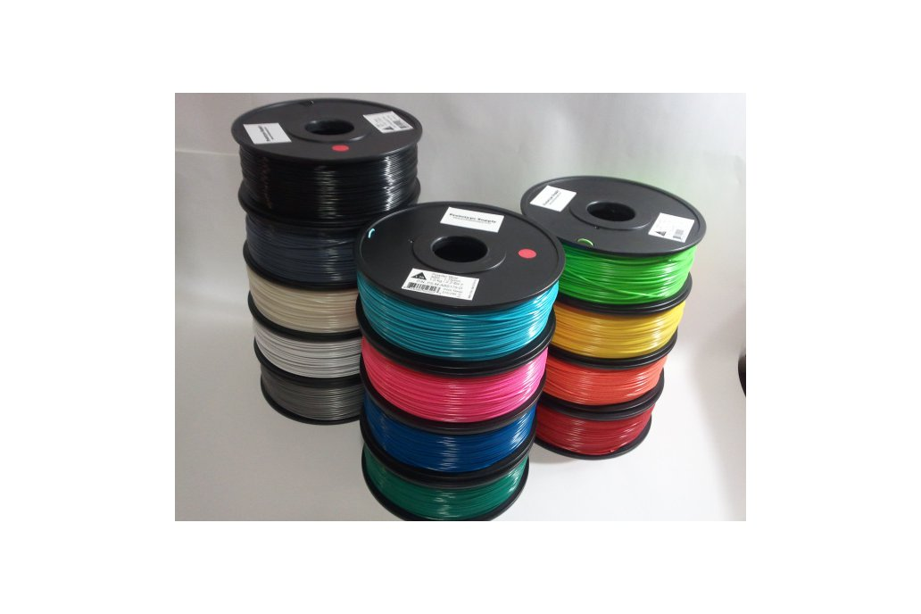ABS 3D Filament (1.75 mm, 1 kg), 12+ colors! 1