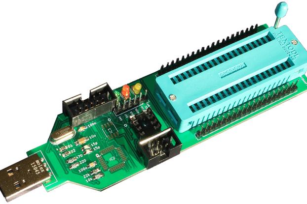 Universal ATMEL AVR ISP programmer