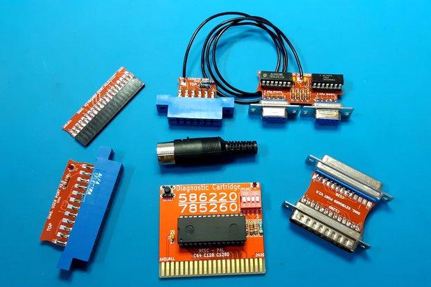 Diagnostic harness complete HQ Commodore 64 / 128