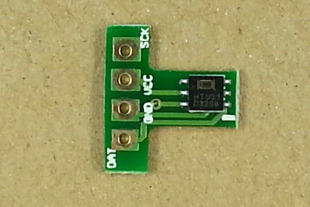 SHT30 Temperature & Humidity Sensor Board