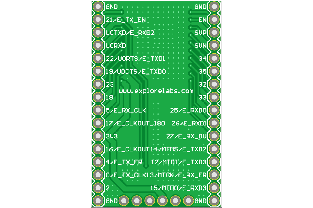 ESP3212 Breadboard Friendly Breakout Board 5