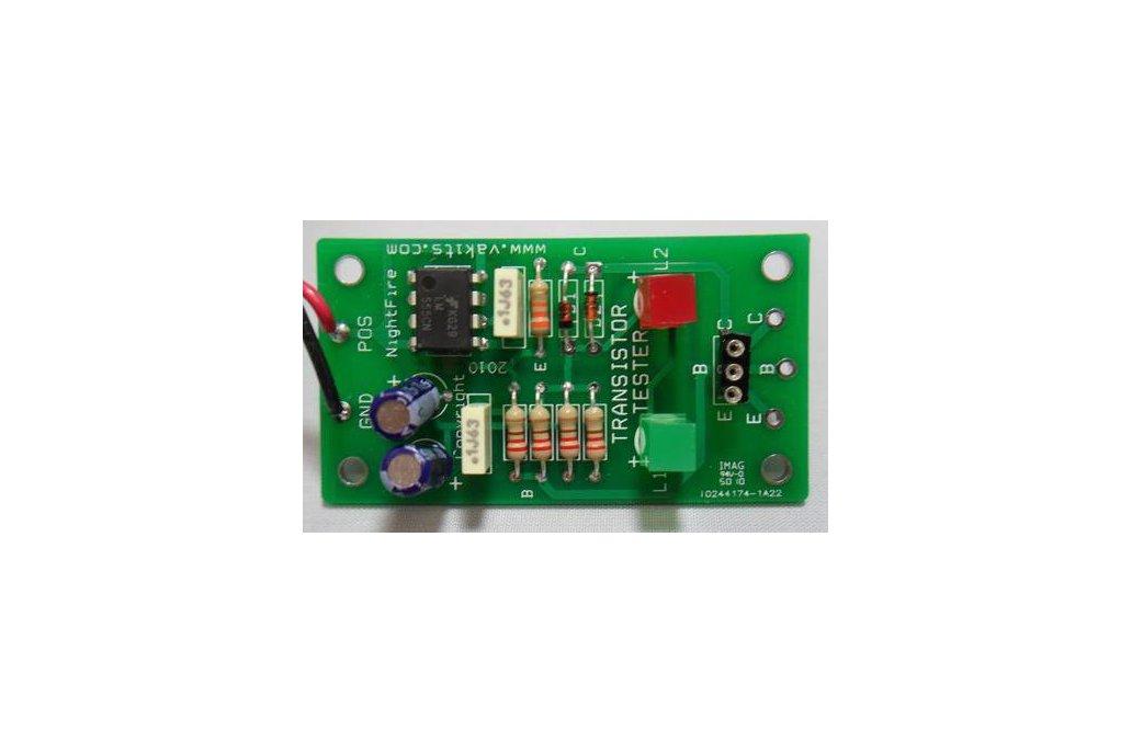 Bipolar Transistor Tester Kit (#1757) 1