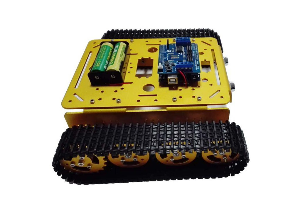 Arduino wifi Metal T200 Crawler Tank 2