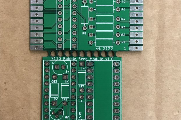 Magnetic Bubble Support PCB