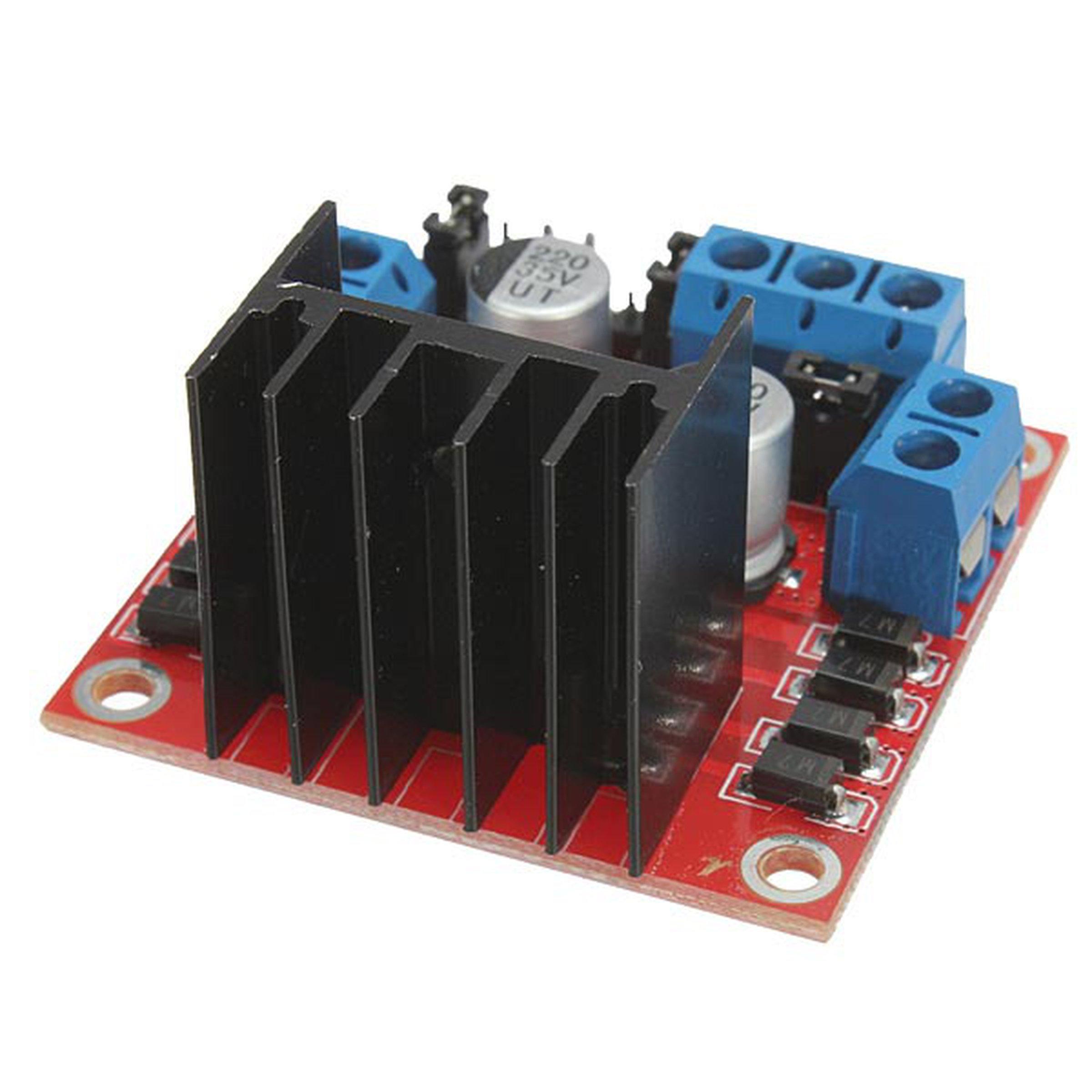 L298n Dual H Bridge Dc Stepper Motor Driver Module Controller Board L298 Diagram Also With For Arduino 6