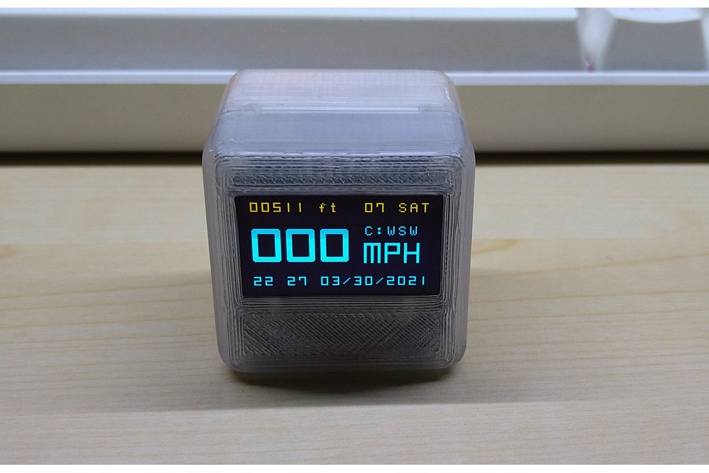 OLEDiUNO GPS Cube 1