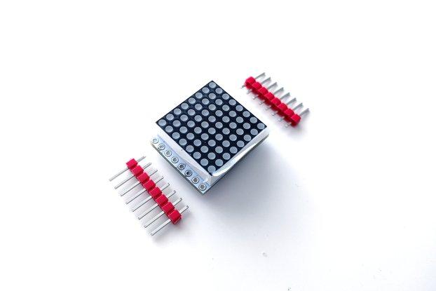 8x8 LED Matrix Shield for D1 Mini