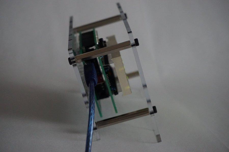 Basic LED matrix clock