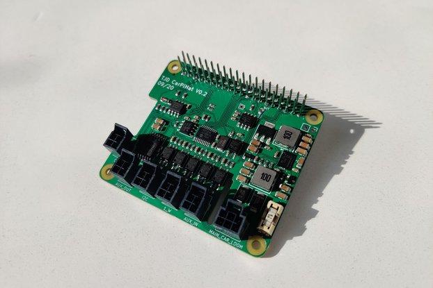 CarPiHat - Raspberry Pi Car Interface PCB