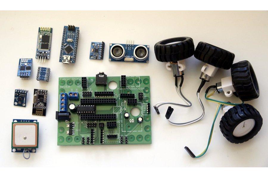 Hackabot Nano (Arduino compatible robot kit)