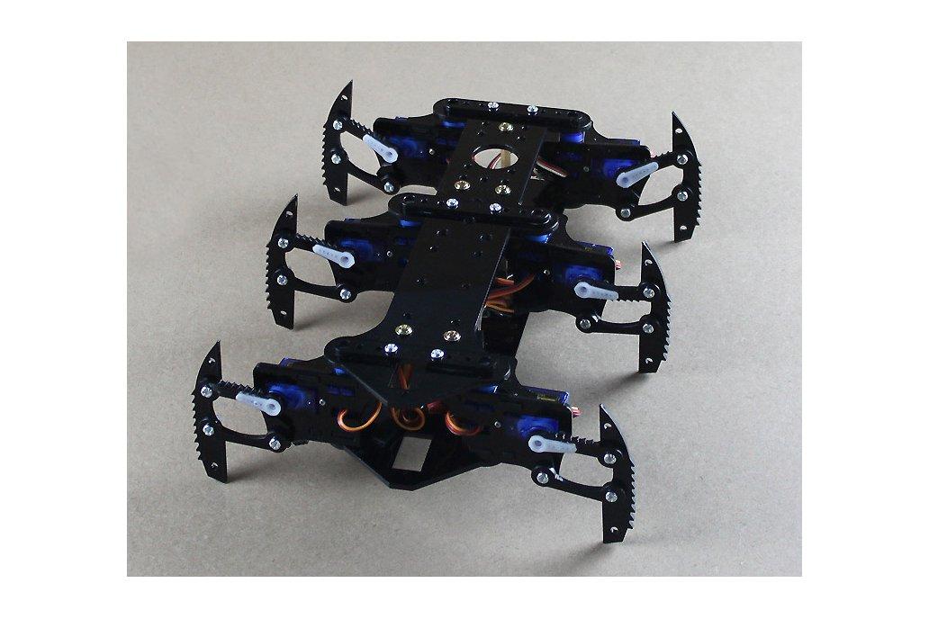 Acrylic Spider Hexapod Robot Kit 3