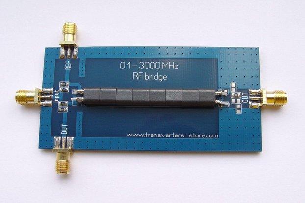 RF SWR Reflection Bridge 0.1-3000 MHZ Antenna Anal