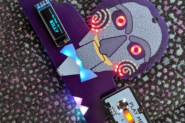 SAW: The Badge -- DEFCON 27 Indie Badge