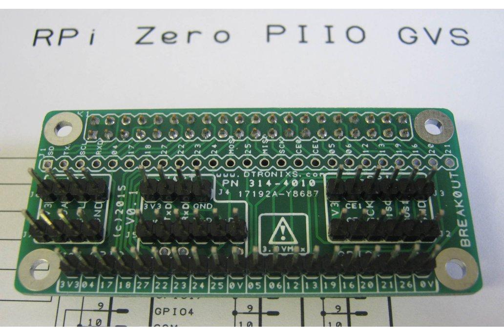 Raspberry Pi Zero - PIIO Breakout!  1