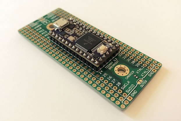 Teensy 3.2 Breakout (Revision B, Carrier)