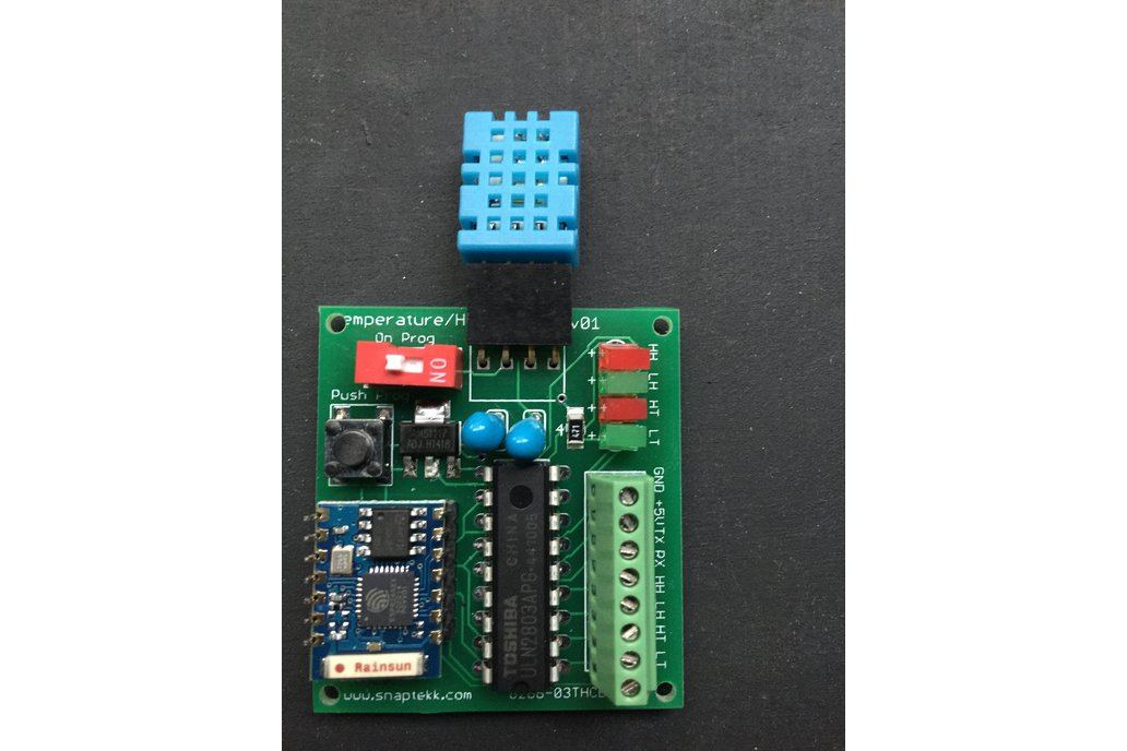 WIFI temperature and humidity sensor and control 3