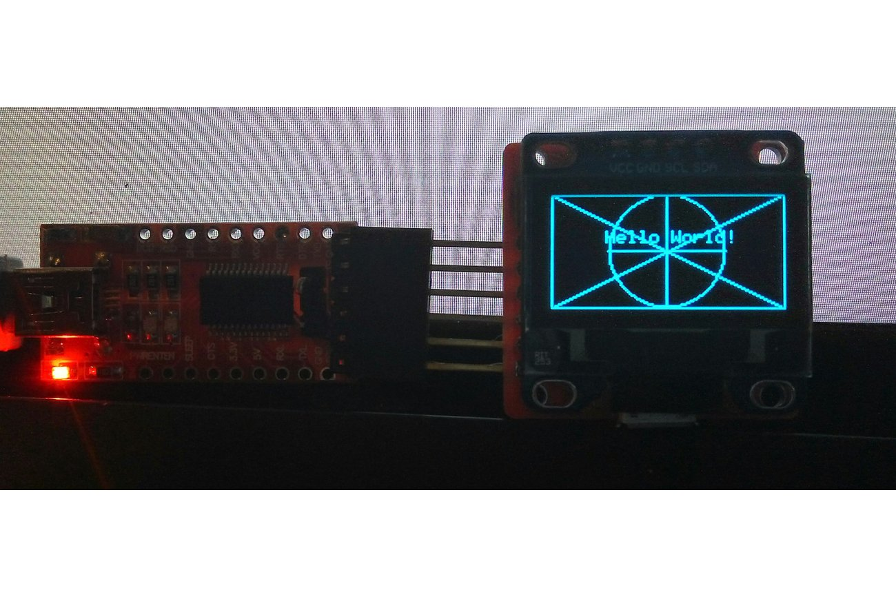 WiFi ESP8285 OLED Display Module