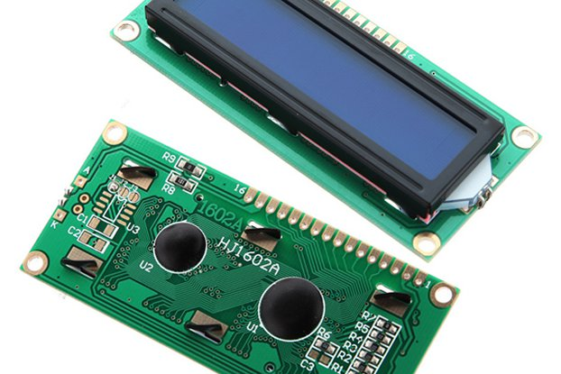 LCD Display Module (Blue Blacklight)