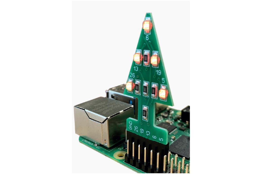 GPIO Xmas Tree for the Raspberry Pi 1